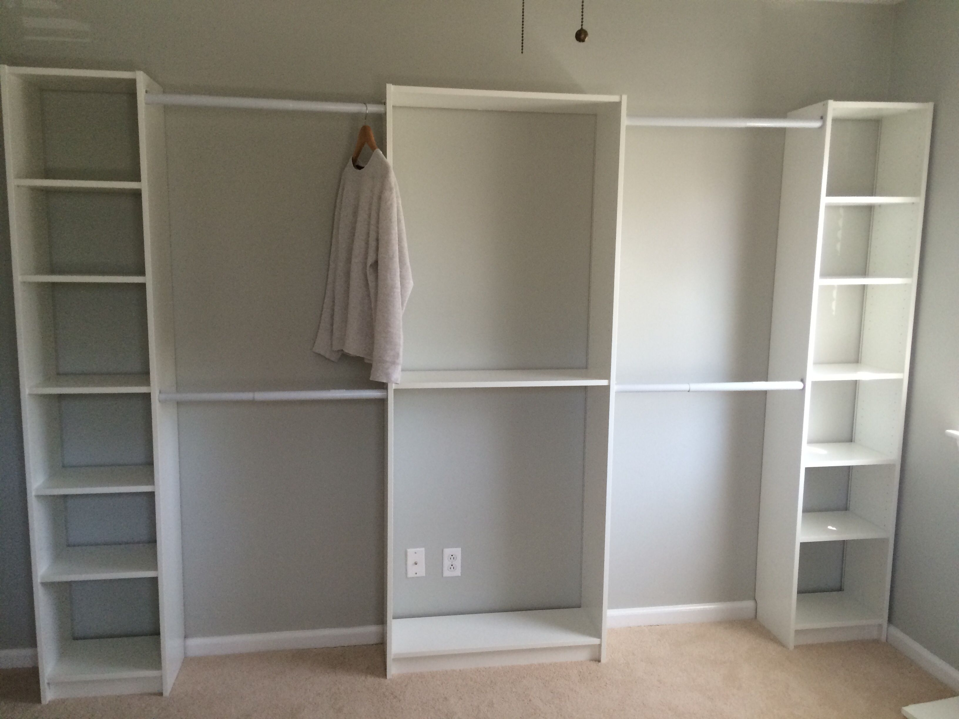 Converted 3rd Bedroom Into Walk In Ikea Closet Ikea