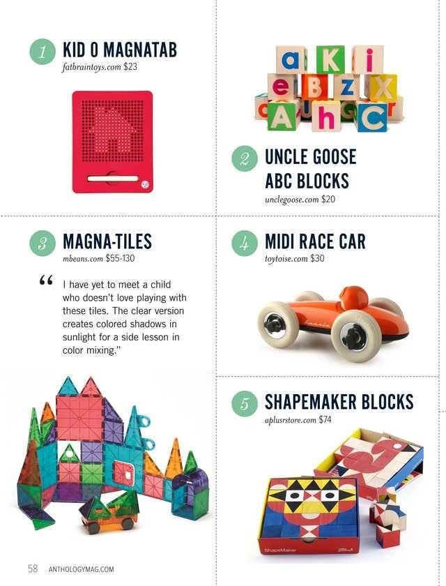 Anthology Magazine - 2012 Holiday Gift Guide - Page 58-59