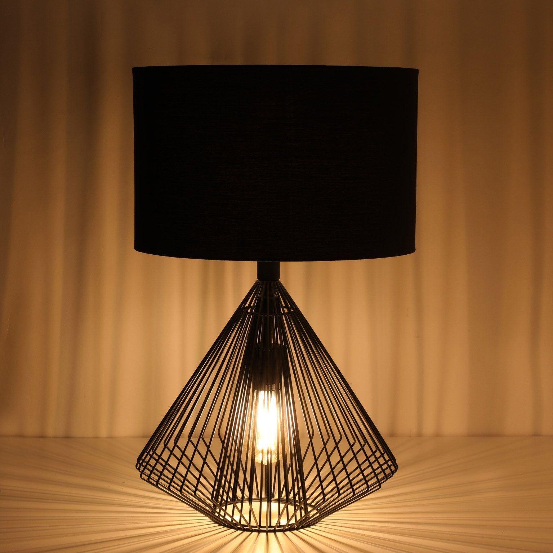 Lampe Design Metal Noir Lussiol Eirika Lamp Lampe Design