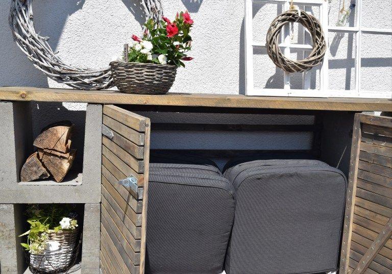 DIY Kommode für den Garten #gartengestaltungideen