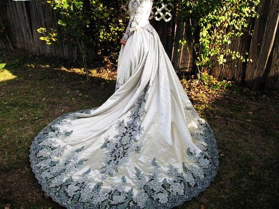 Green Fairy Wedding Dresses | www.imgkid.com - The Image ...