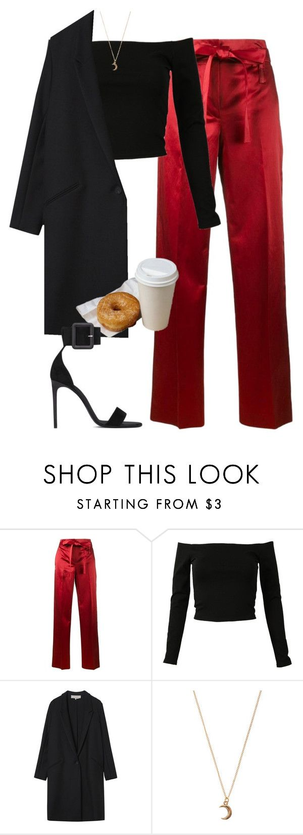 """""""i m i n l o v e w i t h y o u r b o d y ☽"""" by anny15fashion ❤ liked on Polyvore featuring Helmut Lang, Gérard Darel, claire's and Yves Saint Laurent"""