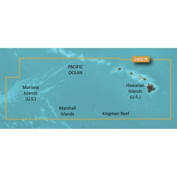 Garmin BlueChart® g2 Vision® HD - VUS027R - Hawaiian Islands - Mariana Islands - microSD™-SD™