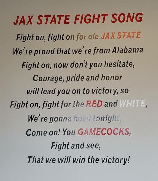 Proud Of Jacksonville State University Jacksonville State Calhoun County Jacksonville