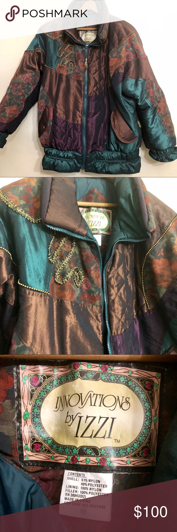 Vintage 80s Winter Jacket Coat Patterned Eighties Winter Coats Jackets Winter Jackets Coat Patterns [ 1740 x 580 Pixel ]