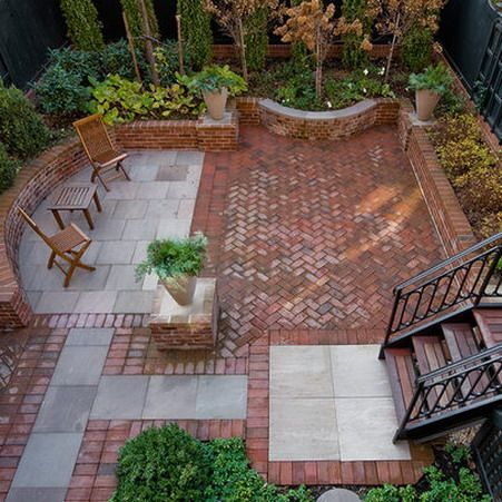 brick patio wall designs fresh with photo of brick patio