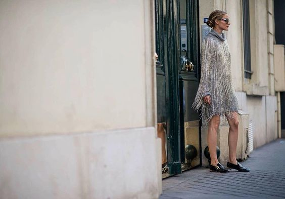 Olivia Palermo at Couture Fashion Week in Paris