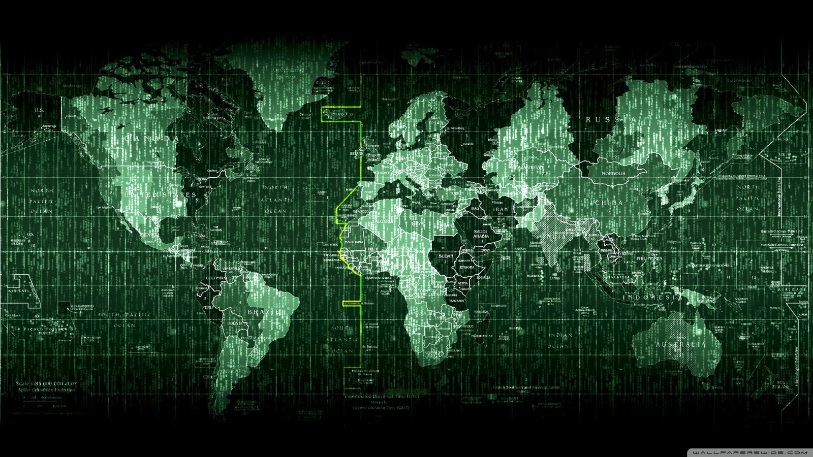 Matrix code world map hd desktop wallpaper high definition matrix code world map hd desktop wallpaper high definition gumiabroncs Choice Image
