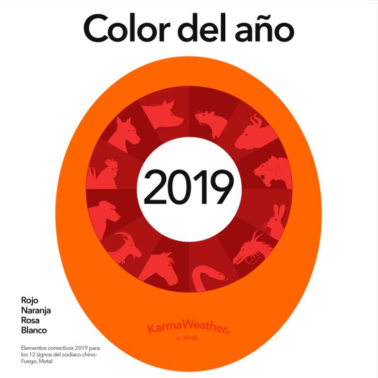 colores del ano nuevo