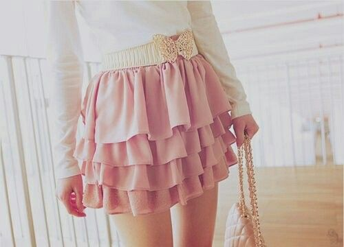 Flowy and pink