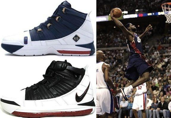 117aa799a03e Nike Zoom LeBron III (2005-06)