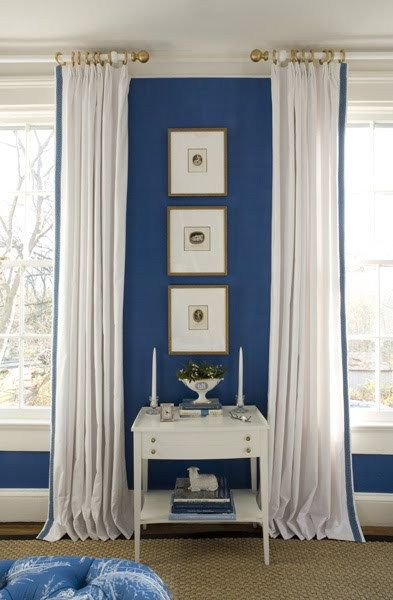 Color Watch Traditional With A Twist In Three Boldly Blue Bedrooms