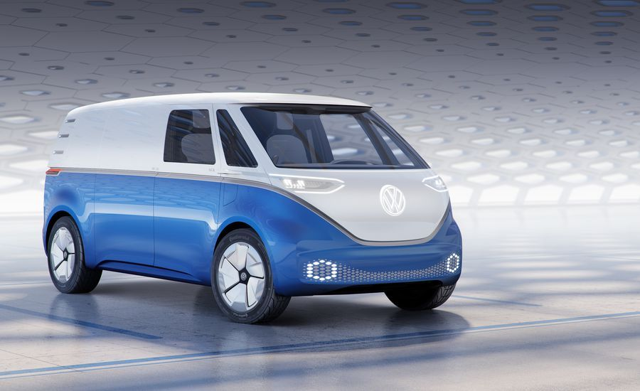 Volkswagen I.D. Buzz Cargo Concept Reimagined as Race ...