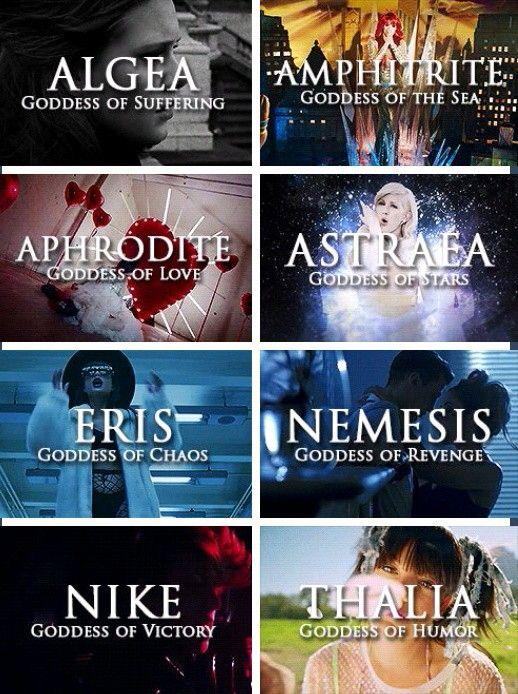 if I was a goddess, I would be Algea or Astraea                              …