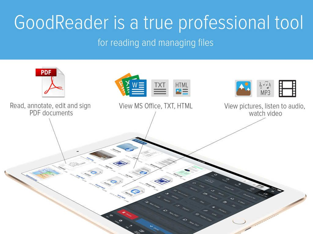 Goodreader  O Aplicatie Utilitara Grozava Este Disponibila La Reducere In  App…