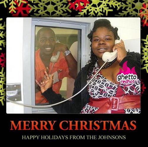 Ghetto Christmas Cards, Tragic Lol