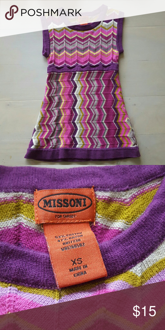 8ef4406c8dd3 MissonixTarget Toddler Girls Chevron Sweater Dress