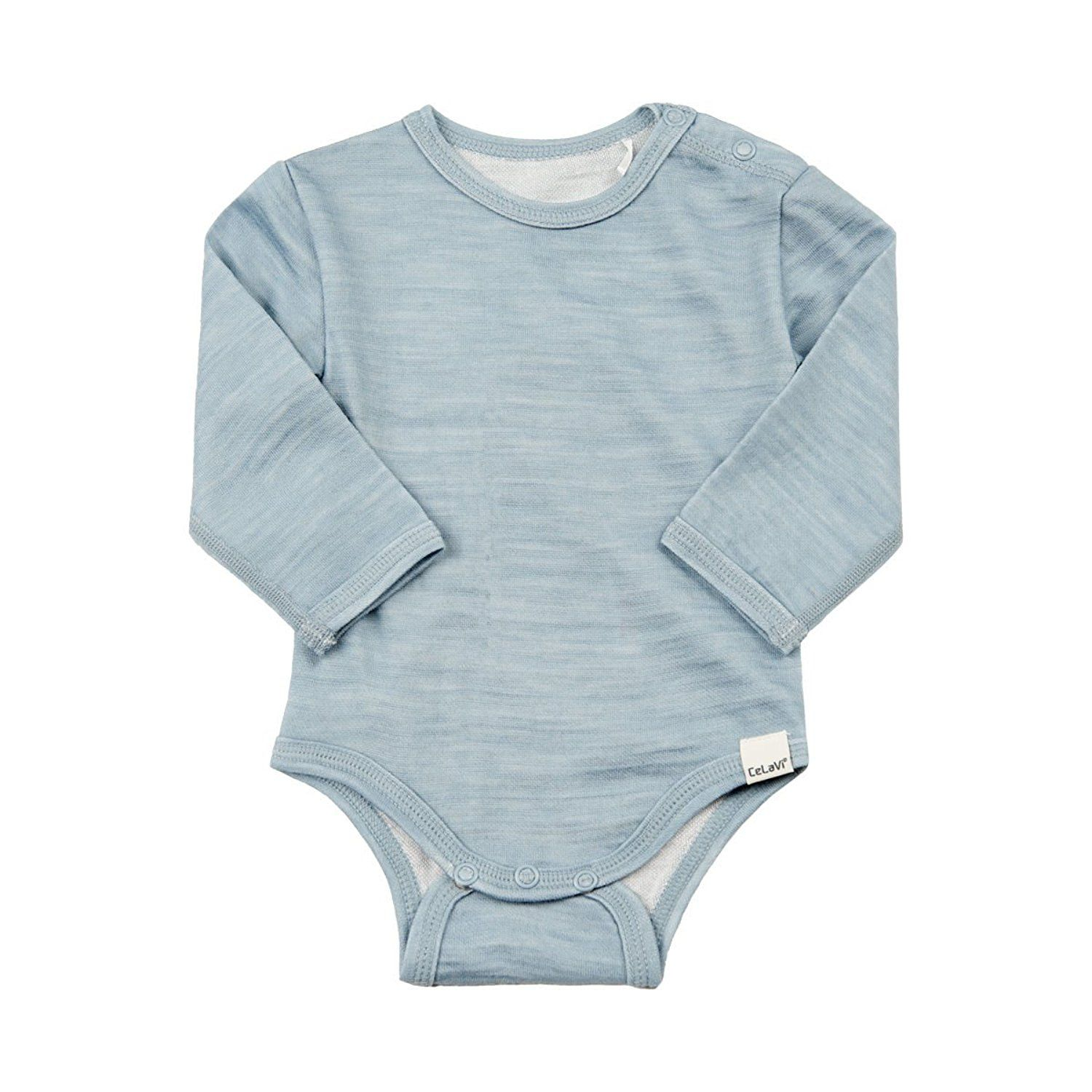 Amazon Merino Wool Bamboo Long Sleeved Uni esie Bodysuit