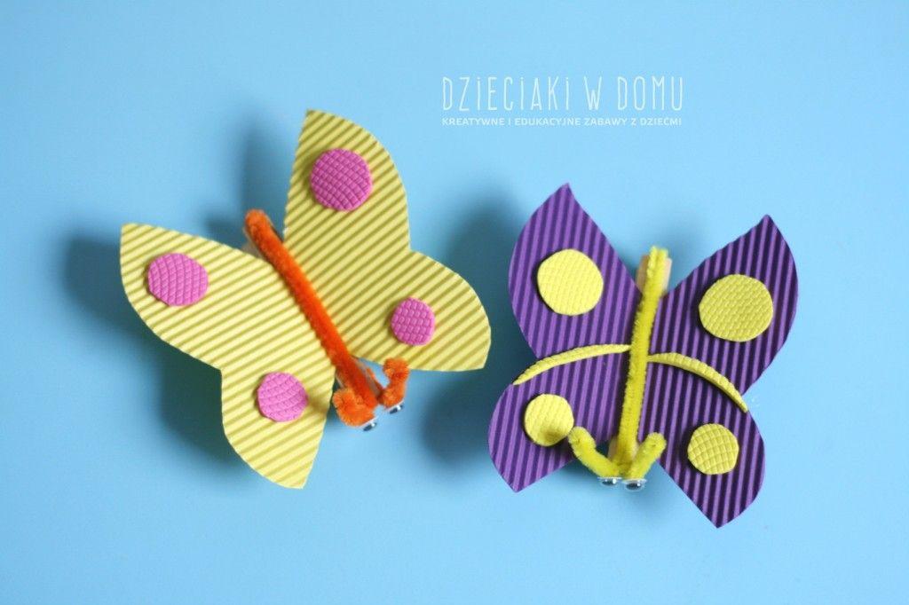 Kreatywne Motyle Z Klamerek Push Pin Butterfly