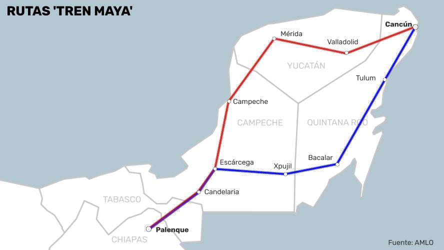 Amlo Anuncia Que El Tren Maya Sera Mas Extenso Y Tendra Inversion Privada Http Www Elfinanciero Com Mx Nacional Amlo A Estados Financieros Inversion Amlo