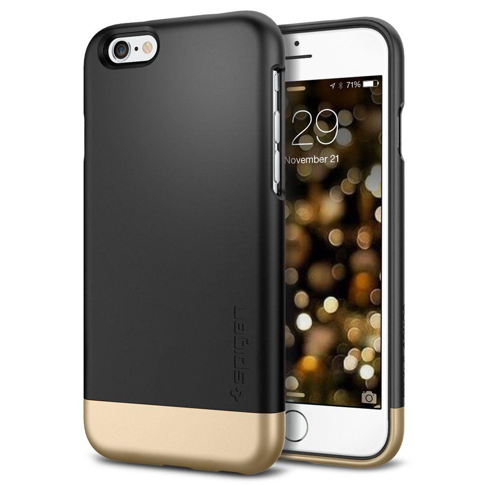 hot sale online 0b0e8 d3e52 Amazon.com: iPhone 6 Case, Spigen® [Safe Slide] iPhone 6 (4.7) Case ...