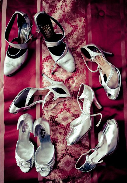 You can never have enough shoes for your wedding
