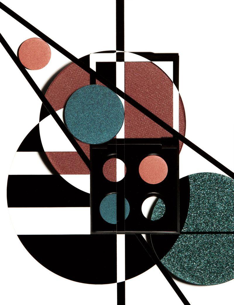 """""""Genèse"""", makeup palettes seen by Damien Blottière"""