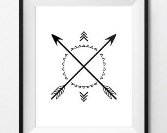 crossed arrow tattoo - Google Search