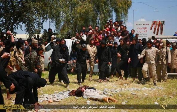Según información difundida por varias agencias informativas de Irak, el Estado Islámico privo de la vida a una mujer en la Ciudad de Mosul en Irak