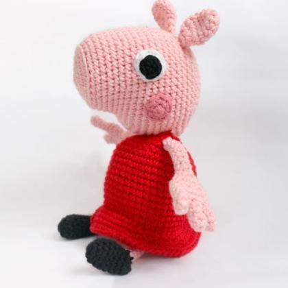Tutorial Peppa Pig Amigurumi in English | Lanas y Ovillos in ... | 420x420