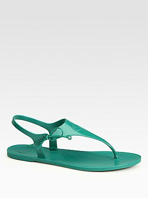 ee0351355ed Rubberized-  Gucci Katina Rubber Thong Sandals