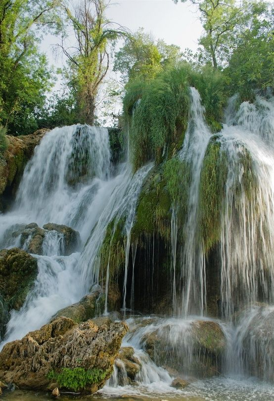 Kravice Waterfalls on Trebižat River in Bosnia and