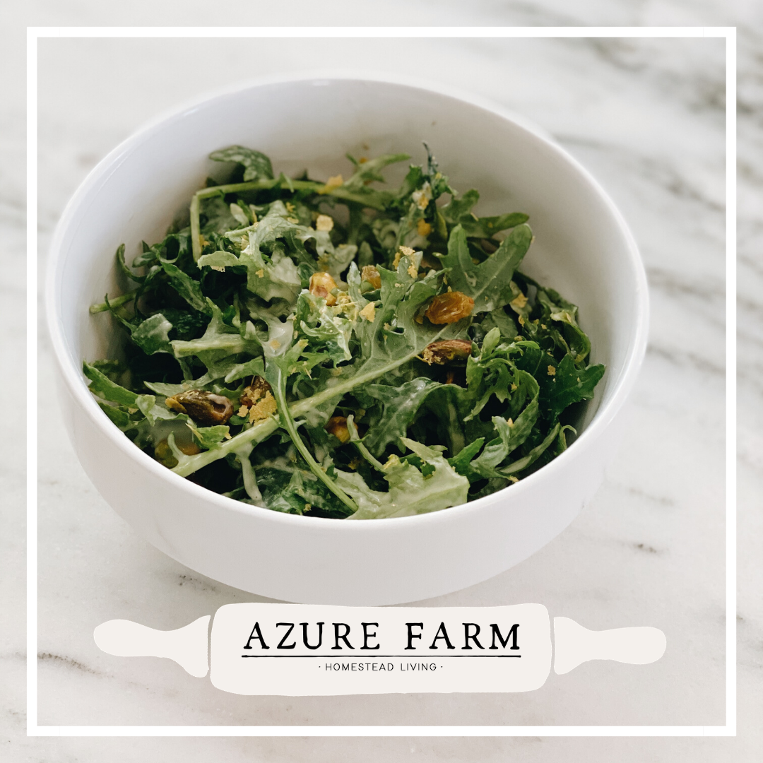 Creamy Kale Salad In 2020 (With Images)