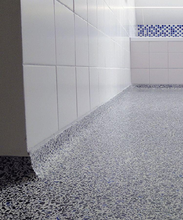 Extra Karakter Op Je Badkamer Met Een Granieten Vloer Granieten Badkamer Badkamer Badkamer Vloer