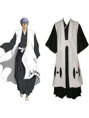 Anime · Bleach Captain Ichimaru Gin 3rd Division Cosplay Outfits Costumes