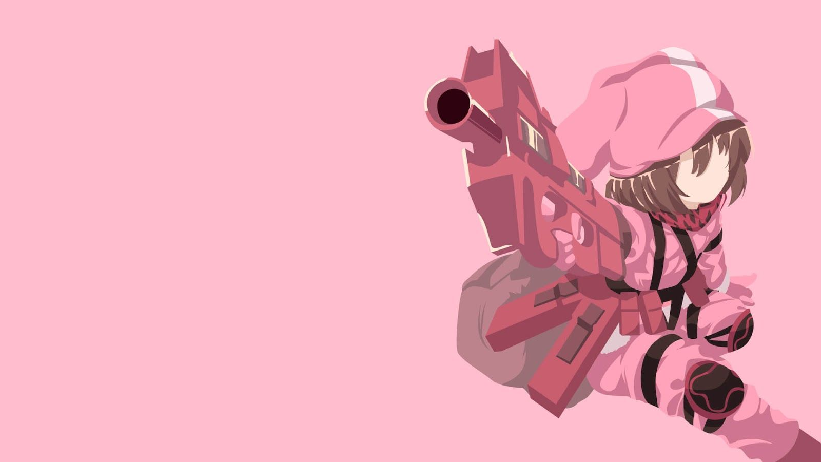 [PC] LLENN - SAO Gun Gale Online Wallpaper