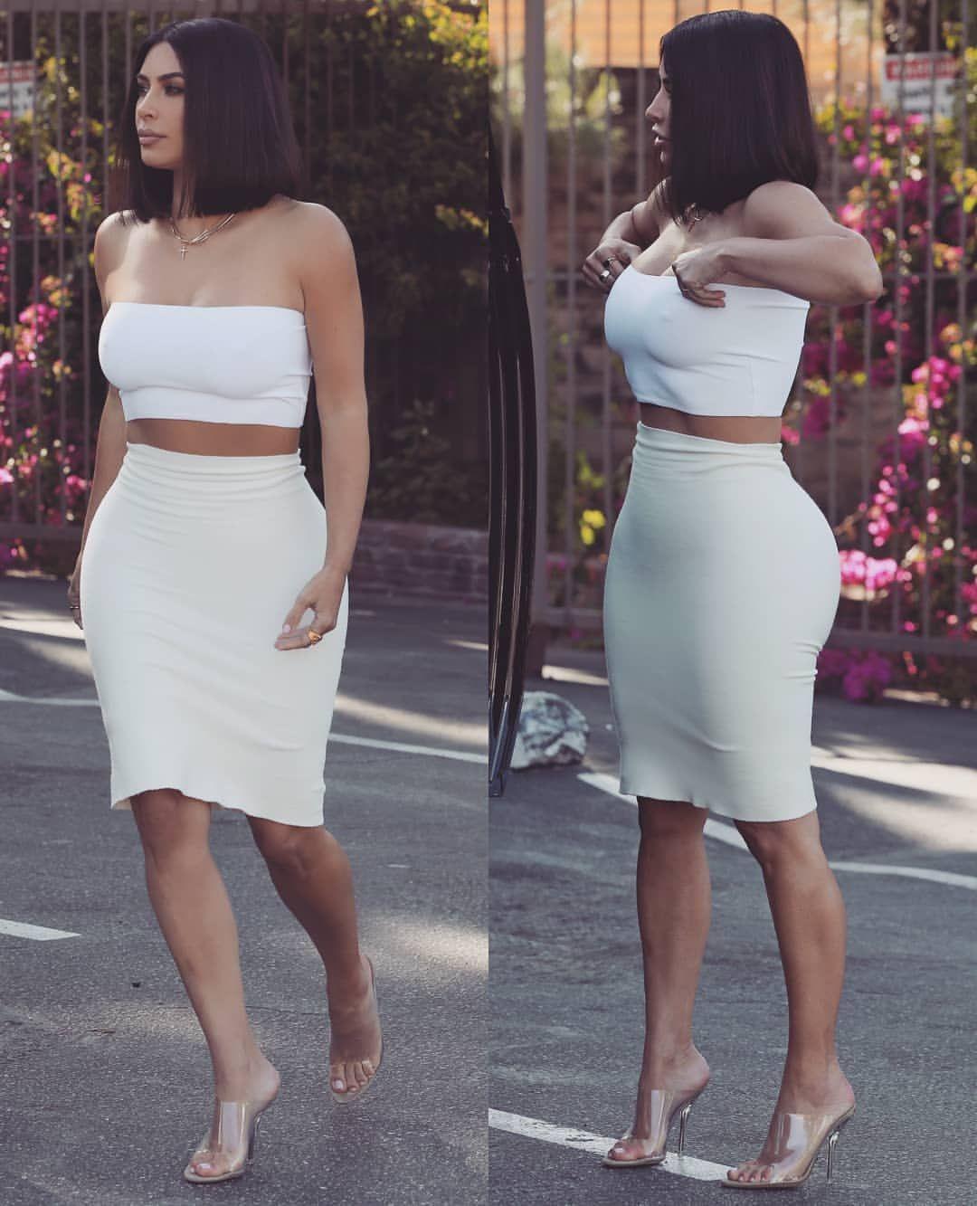 Kim Kardashian | Kim kardashian, Strapless dress formal