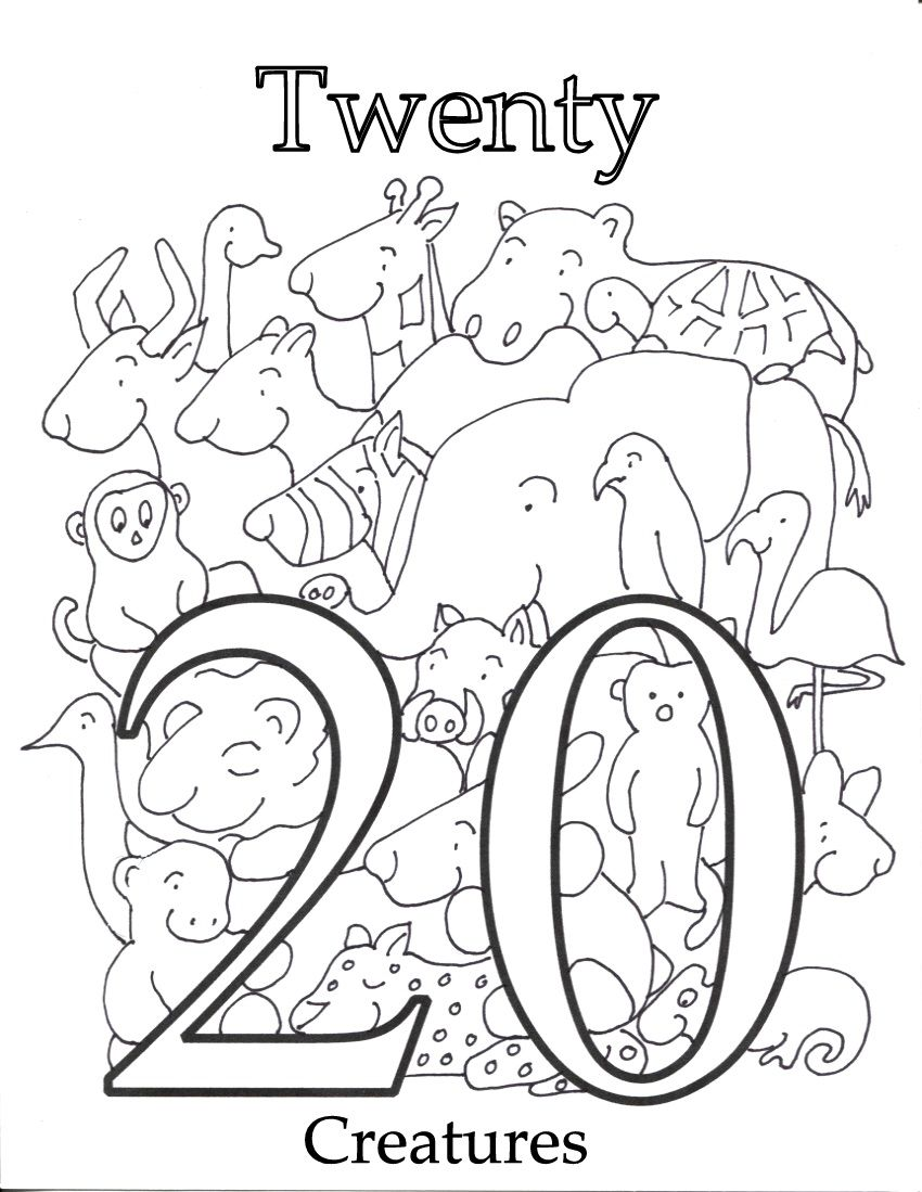 Counting 1 20 Coloring Pages Coloring Pages Bee Coloring Pages Coloring Pages Inspirational