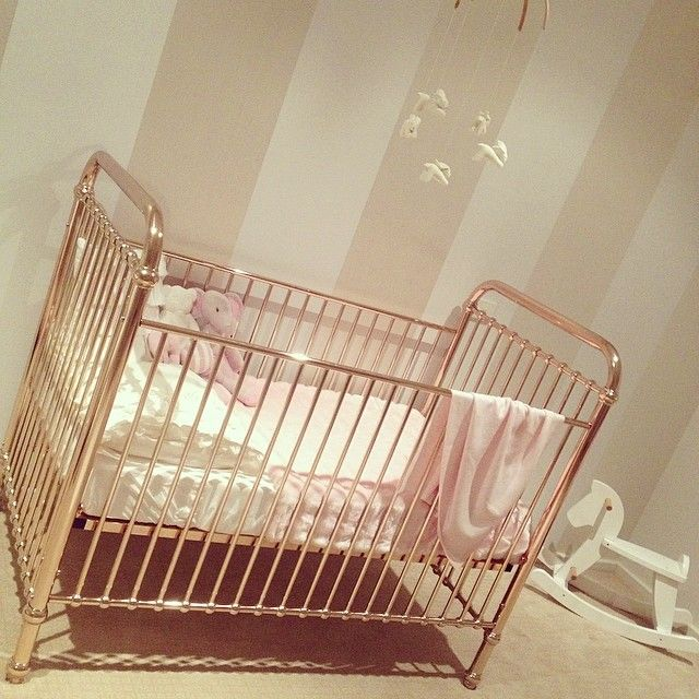 Rose Gold Metal Cots For The S Baby Cribs New