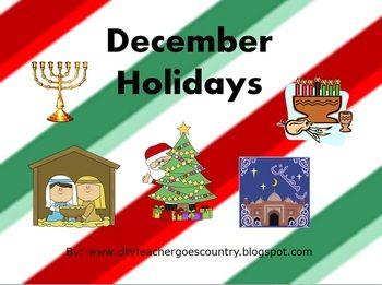 Christmas Hanukkah Kwanzaa And Other Holidays.December Holidays Powerpoint Christmas Hanukkah Ramadan