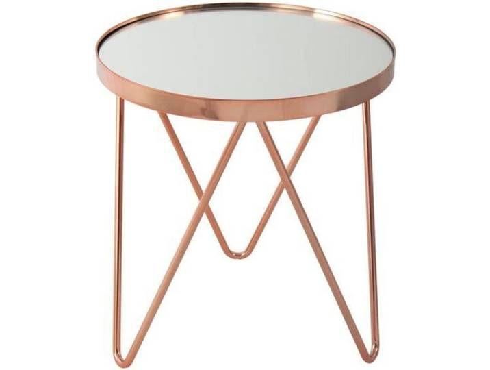 Kayoom Beistelltisch Bonnie 110 Spiegelglas Tischplatte