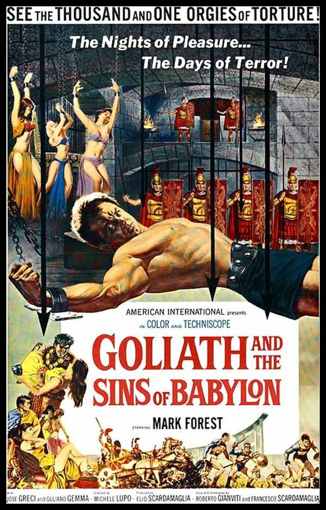 Details About Goliath And The Sins Of Babylon Fridge Magnet 6x8