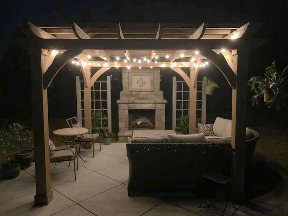 My Very Talented Sister In Law Took A Basic Costco Gazebo And