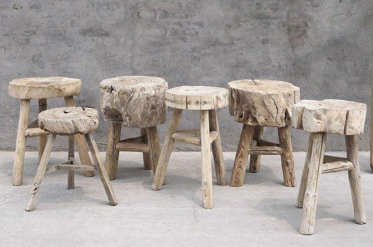 Marvelous Bad Storm Wood Stools Break Out The Chainsaw Furniture Frankydiablos Diy Chair Ideas Frankydiabloscom