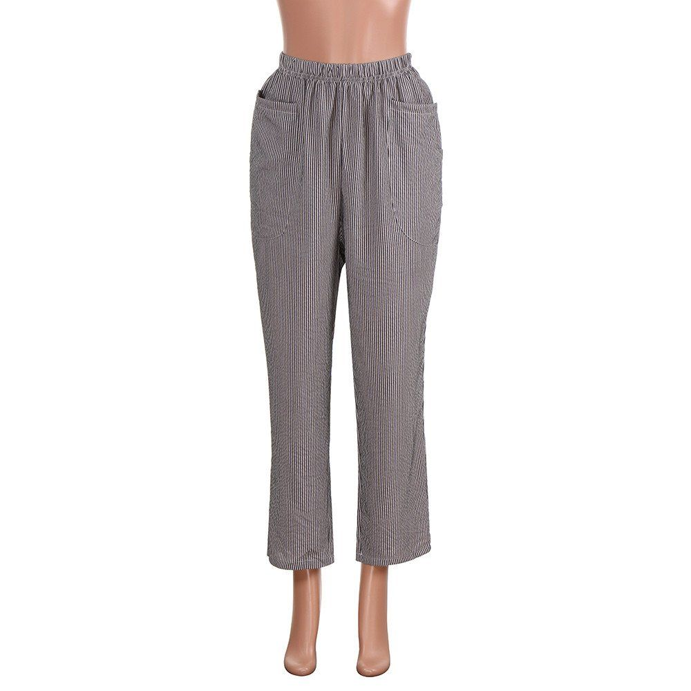 UOFOCO Plus Size Casual Wide Leg Pants Womens Summer Harem Pants Casual Trousers