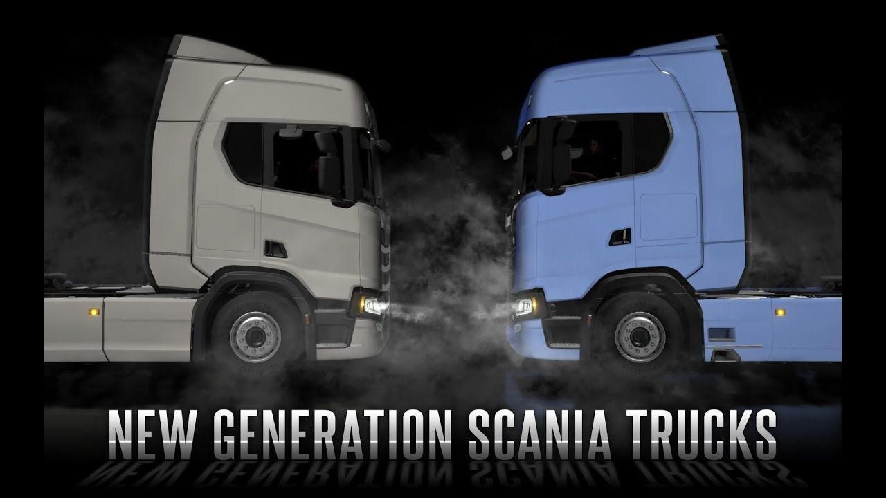 New Generation Scania Trucks Coming To Ets2 With Images Trucks