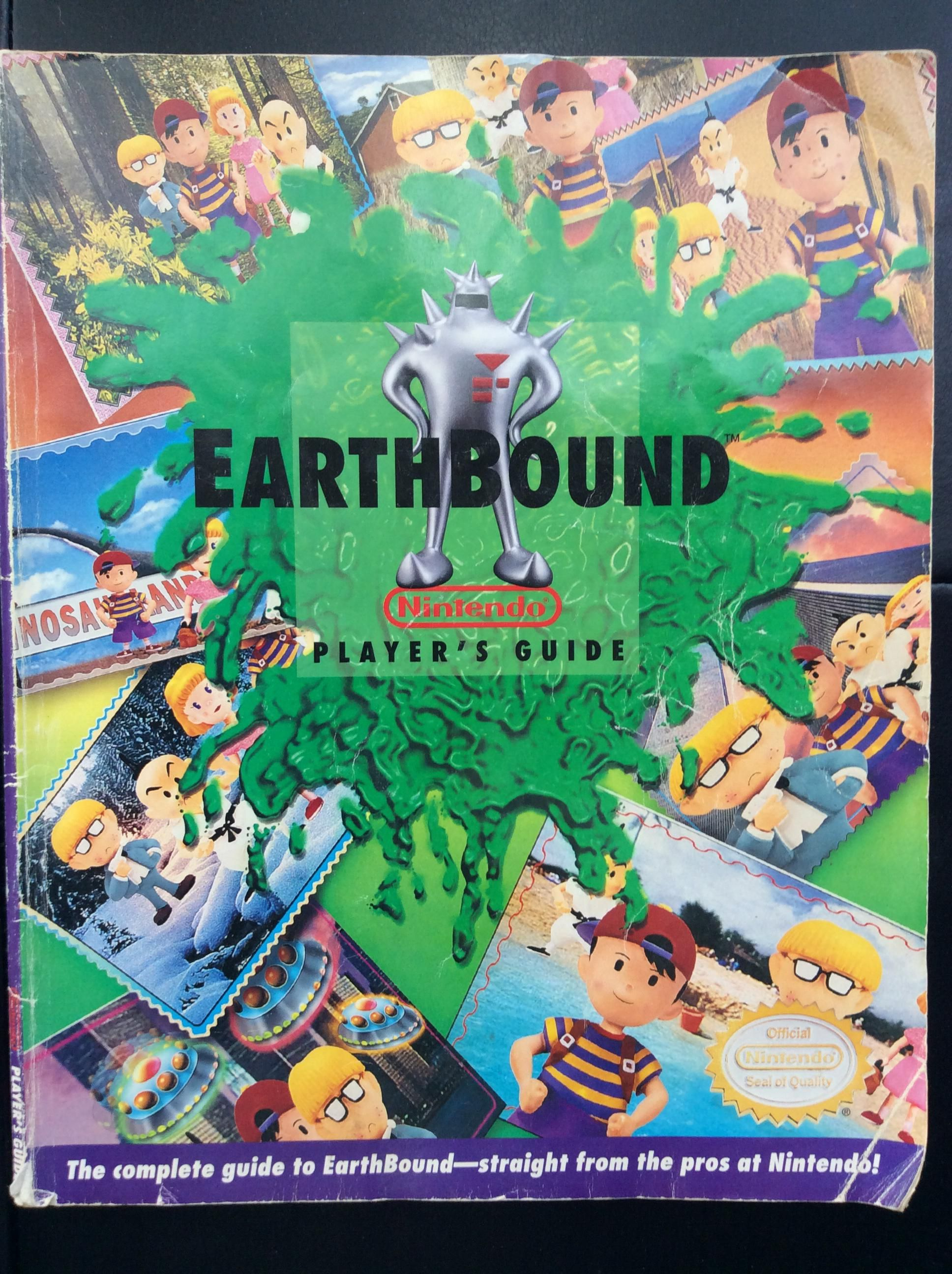 nintendo post the 135 page earthbound guide for the super nes rh pinterest co uk earthbound strategy guide wii u earthbound strategy guide ebay