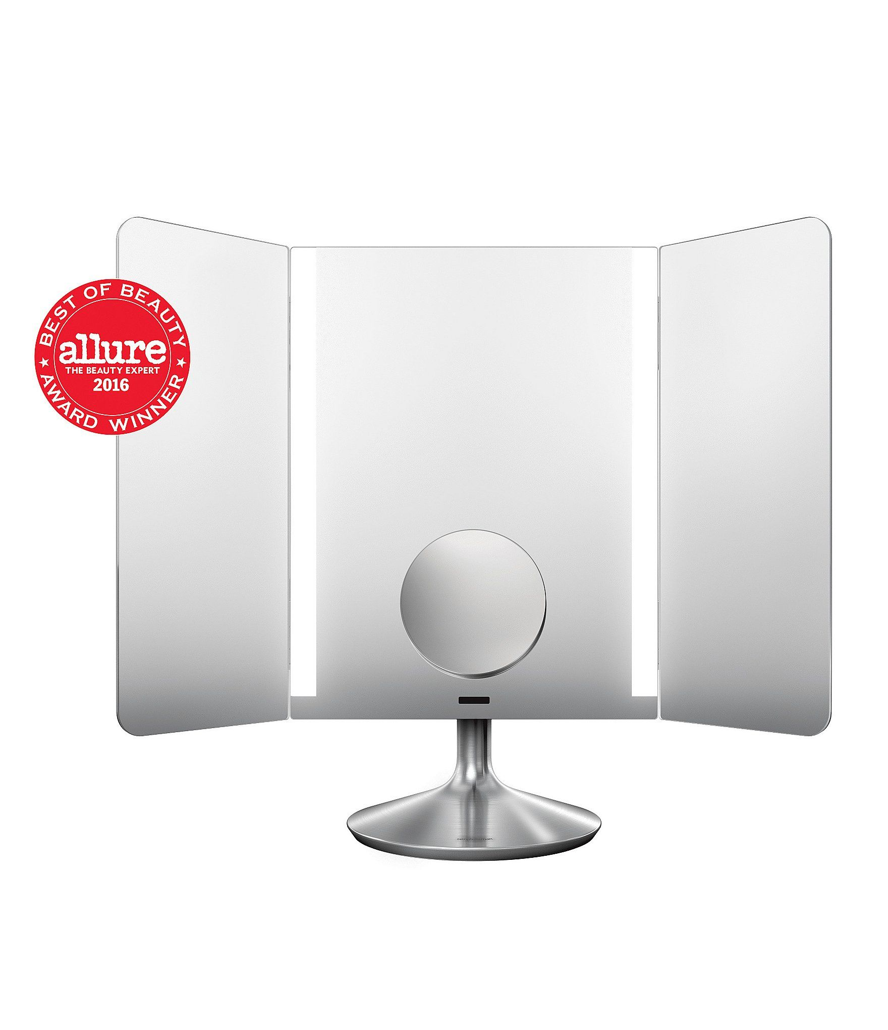 simplehuman Pro WideView Lighted Mirror Mirror with