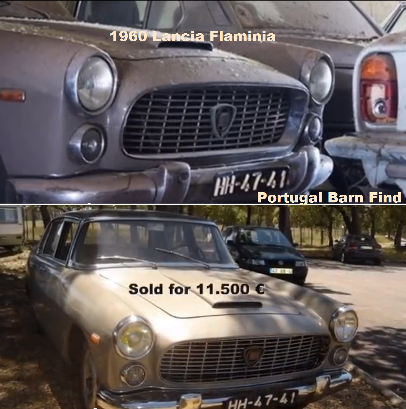 Part Of The Portugal Barn Find