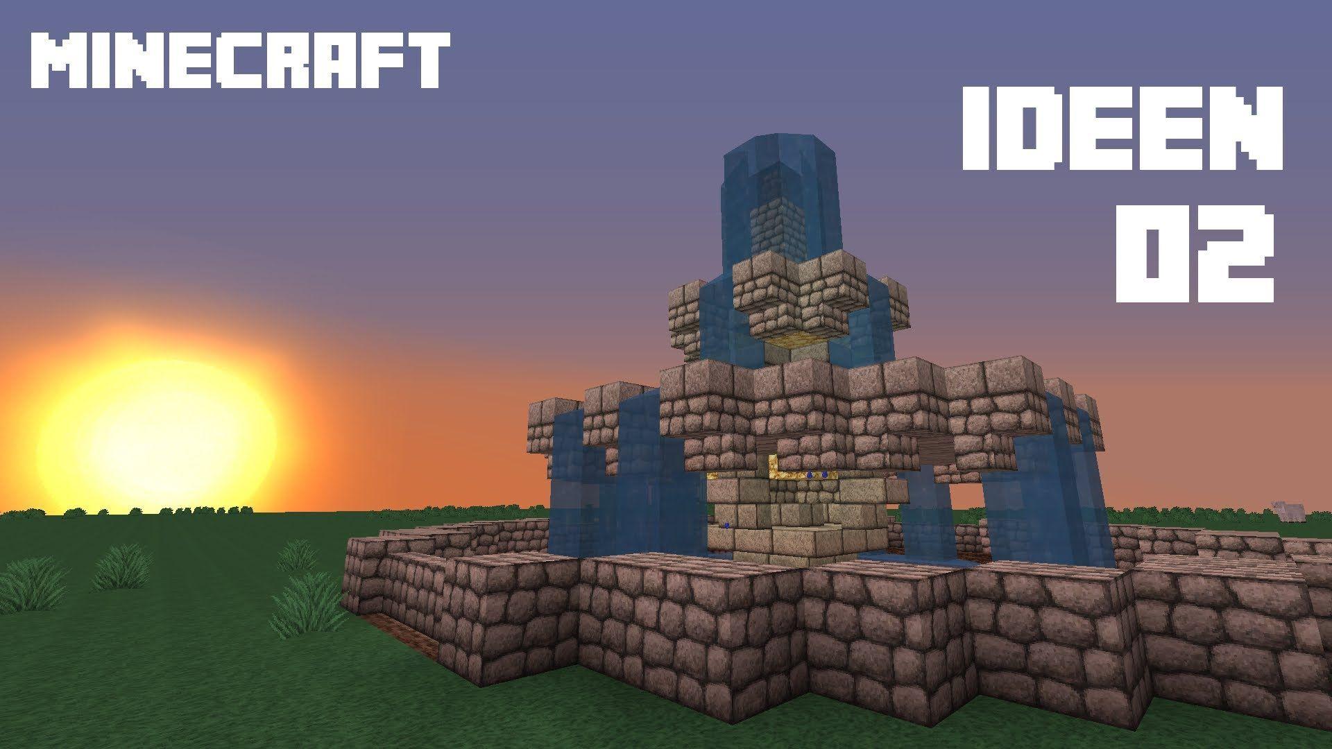 MINECRAFT IDEEN Brunnen Grabsteine Und Mehr HD Deutsch - Minecraft haus ideen deutsch